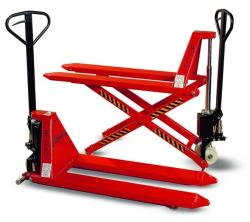 Ręczny wózek paletowy nożycowy WRP-1001, widły 1150mm