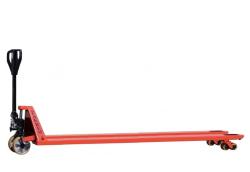 Ręczny wózek paletowy Zakrem WRU, ekstra długie widły 2500mm