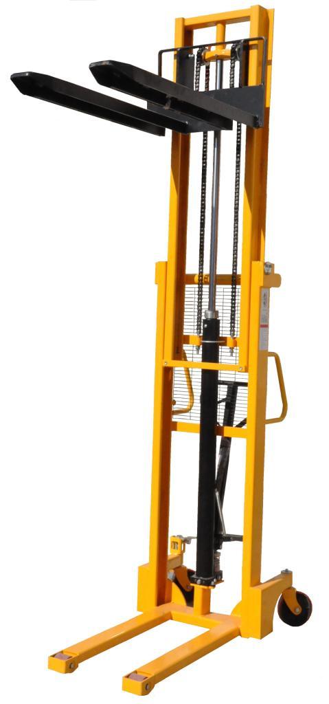 Ręczny wózek paletowy masztowy PTM 1016