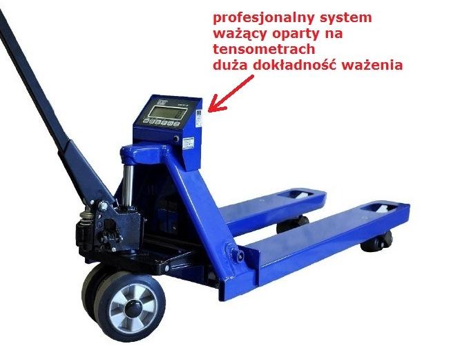 Ręczny wózek paletowy z wagą, KPZ