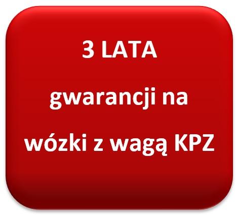 Gwarancja KPZ wózek paletowy z wagą