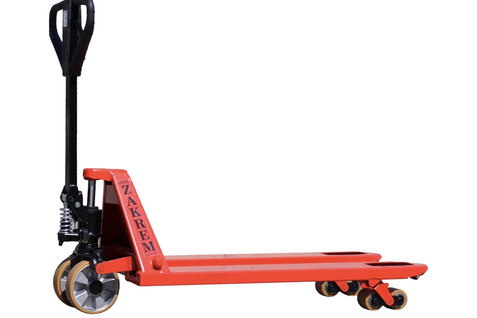 wózek paletowy zakrem wru4-2300, paleciak - Spare